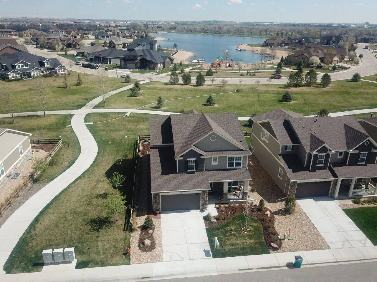 Platteville Home with Drone Photography